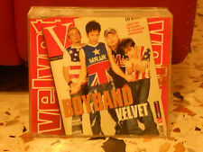 VELVET - BOY BAND - cd singolo slim case PROMOZIONALE usato 2001