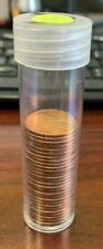 28 X AU/BU Lincoln Wheat Cents Penny 1c in Tube