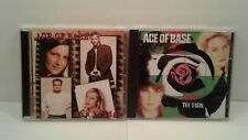 Lot of 2 Ace of Base CDs: The Bridge and The Sign