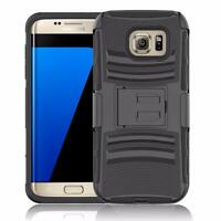 Shockproof Hybrid Cover Belt Clip Holster Case for Samsung Galaxy S7 / S7 Edge