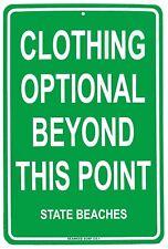 Clothing Optional Hawaii Beaches Beach Dress Code Aluminum Sign
