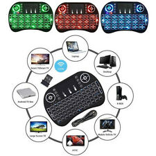 UK Wireless Mini Keyboard Rii i8 Air Mouse Keypad Remote Control Android TV Box