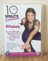 10 Minute Solution - Pilates (DVD, 2005) Fitness Film