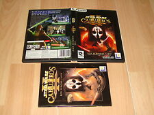 STAR WARS CABALLEROS DE LA ANTIGUA REPUBLICA 2 PARA PC CON 4 DISCOS BUEN ESTADO