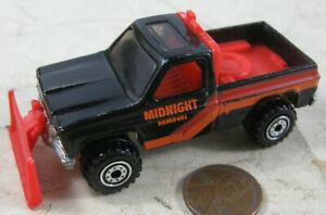 Vintage 1979 Hot Wheels Midnight Removal Plow Truck