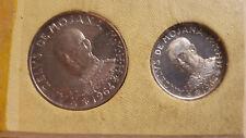 *ORDER OF MALTA 1 E 2 SCUDI 1964 SILVER COINS SET