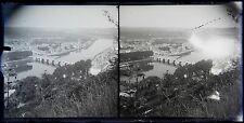 Namur Belgique Grande Plaque stéréo négative 1906