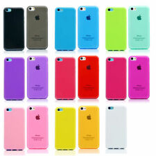 Silicone/Gel/Rubber Transparent Mobile Phone Fitted Cases/Skins for iPhone 5c