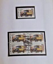 Chile 1994 Folder America UPAEP Vehiculos de Transporte Postal