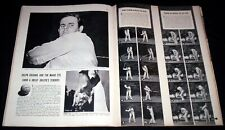 RALPH GULDAHL 1938 GOLF PICTORIAL TECHNIQUES FOR GREAT STROKES DRIVE IRON PUTT +