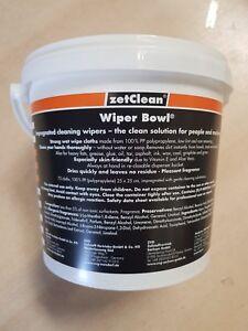 Wiper Bowl feuchte Reinigungstücher Putztücher Feuchttücher im Spendereimer