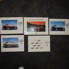 PEUGEOT 306 Sedan Saloon ST STdt SR SRdt SL SLdt Petrol Diesel UK Brochure 1994