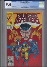 Secret Defenders #1 CGC 9.4 1993 Doctor Strange Marvel: Red Foil: New Frame