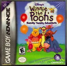GBA Winnie The Pooh Rumbly Tumbly Adventures (2005) NEW & FACTORY SEALED