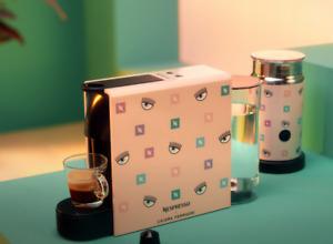 Nespresso X Chiara Ferragni Essenza Mini Pink - Limited Edition - Rare