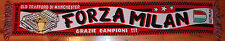 MILAN 2003 UEFA CHAMPIONS LEAGUE FORZA MILAN SUPPORTERS SCARF