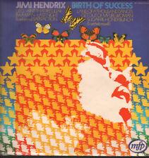 JIMI HENDRIX Birth Of Success LP VINYL 8 Track Recorded Live (MFP50053) UK Mfp