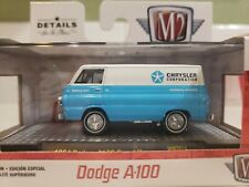 M2 MACHINES 2019 DODGE A100 '64 A100 PANEL VAN WHITE WMTS14 1/7800 WALMART
