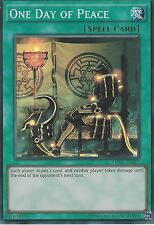 YU-GI-OH CARD: ONE DAY OF PEACE - SUPER RARE - OP04-EN012