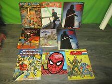 vintage  1980s transformers, star wars, gi joe, thundercats, etc book lot