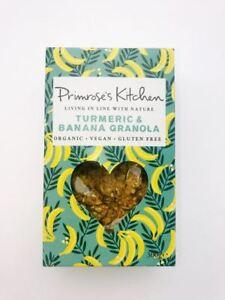 Primrose's Kitchen Banana and Turmeric Granola