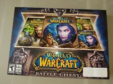 World of Warcraft Battle Chest (PC, MAC 2007) NEW, FACTORY SEALED!