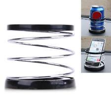 Dashboard Car Cup Holder Van Drinking Bottle Can Mug Spring Mount Phone Stand