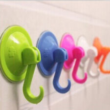 Vacuum 1Pc Sucker Hook Bathroom Kitchen Clothes Coat Wall Suction Cup Hanger