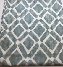 """One Blue Ivory Curtain from Target with Rod Pocket 29 1/2"""" wide by 36"""" long"""