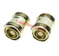 1Pcs 7/16 DIN Female to 7/16 Female L29  jack in series RF adapter connector F/F