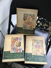 THE NEW ILLUSTRATED MEDICAL & HEALTH ENCYCLOPEDIA 1964 Vol 1-3 Set of 3 books