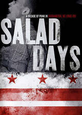 Salad Days DVD 2015 minor threat faith fugazi government issue rites of spring