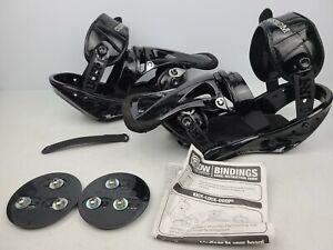 Burton Custom Snowboard Bindings Medium Black (MISSING PIECES)