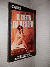IL DELTA DI VENERE Racconti erotici Anais Nin Delfina Vezzoli Bompiani 1990 di