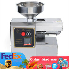 Oil Press Machine Commercial Kitchen Equipment Olive Oil Press Expeller Machine