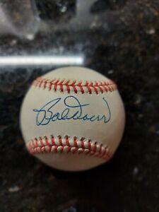 Hall Of Famer BOB BOBBY DOERR Signed Baseball