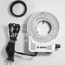 80 ampoules réglable led anneau de lumière projecteur lampe source pour stéréo microscope