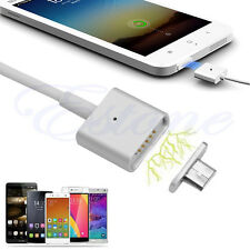 2.4A Micro USB Charging Cable Magnetic Adapter Charger For Android Samsung etc
