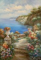 """Original Oil Painting On Canvas 24"""" x 36"""""""