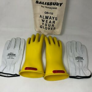 Salisbury GK011Y/9 Electrical Glove Kit,Class 0,Sz 9,PR