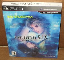 PS3 Final Fantasy X/X-2 HD Remaster Limited Edition New Sealed PlayStation 3