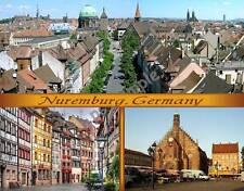 Germany - NUREMBURG - Travel Souvenir Fridge Magnet
