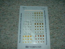 Microscale decals 1/72 72-359 Usaf Tac Badges 12Tfw 556-59 Tfs of 12Tfw Mmm