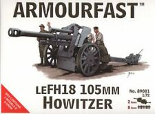 Armourfast - LeFH18 105mm Howitzer with crew - 1:72