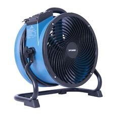 XPOWER X-39AR 1/4 HP Industrial Sealed Motor Axial Fan Floor Air Mover w Outlets