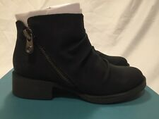 Blowfish Kimm Ankle Boots Black Faux Suede UK 3 / EU 36 RRP £69