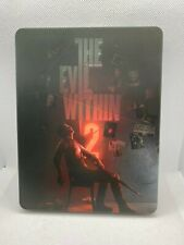 The Evil Within 2 With Custom Steel Case (Sony PlayStation 4, 2017) Used