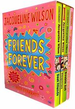 Jacqueline Wilson Friends Forever Collection 4 Books Set Double Act, Sleepovers