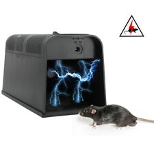Electronic Rat Zapper Trap Mice Mouse Rodent Killer Shock High Voltage Electric