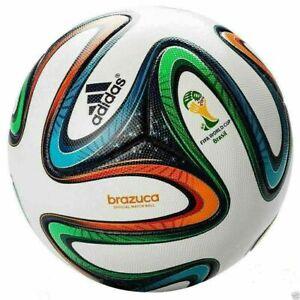 ADIDAS BRAZUCA MATCH BALL FIFA WORLD CUP 2014 SOCCER BALL SIZE 5